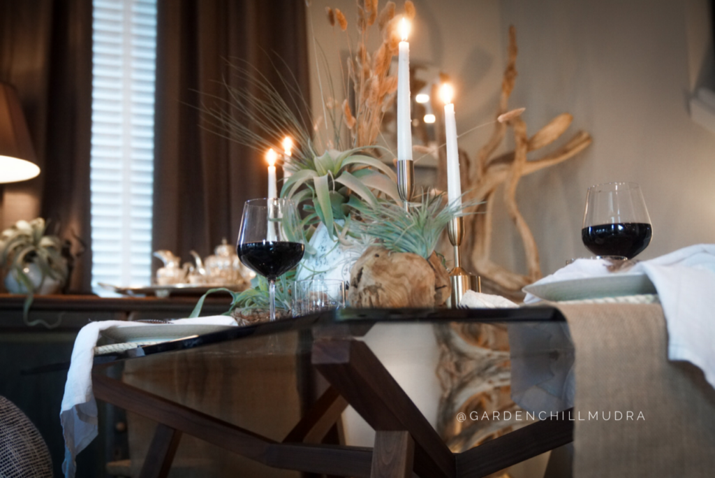 How to Create a stunning tablescape as a designer 2.  How to look at a tablescape from all angles to create drama
