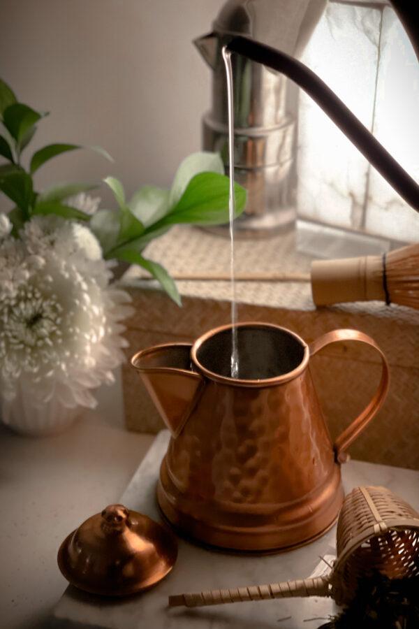 Cozy tea display