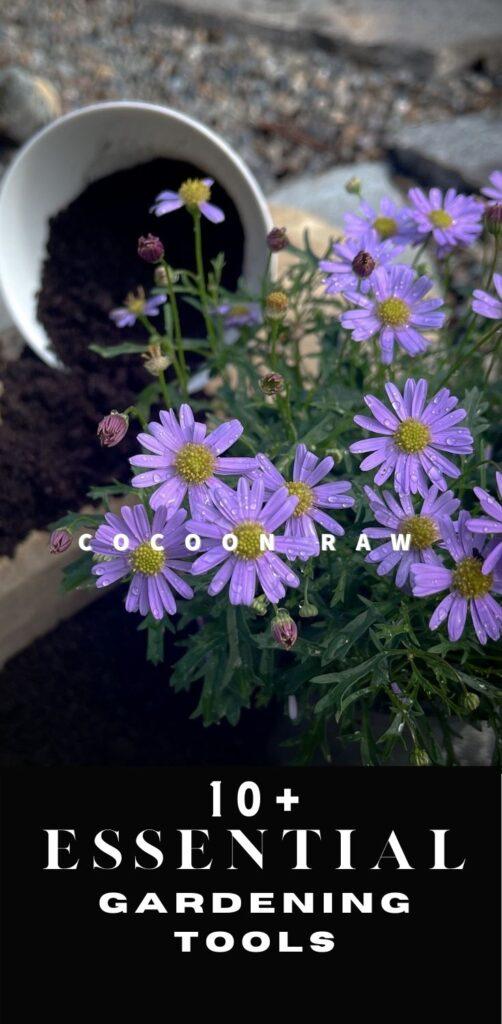 Purple Flowers Pin